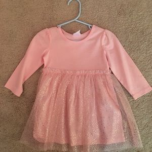 Hanna Andersson Pink Tulle Dress New